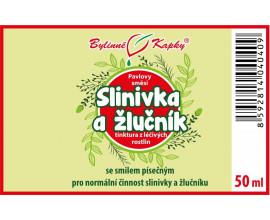 Slinivka a žlučník kapky (tinktura) 50 ml