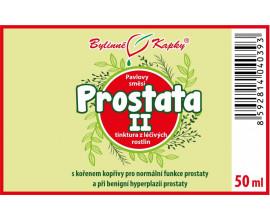 Prostata II kapky (tinktura) 50 ml