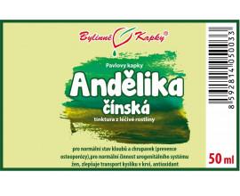 Andělika čínská kapky (tinktura) 50 ml