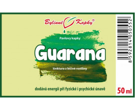 Guarana kapky (tinktura) 50 ml