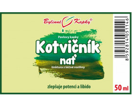 Kotvičník nať kapky (tinktura) 50 ml