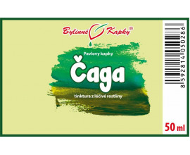 Čaga kapky (tinktura) 50 ml