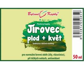 Jírovec plod + květ kapky (tinktura) 50 ml