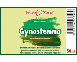 Gynostema (jiaogulan) kapky (tinktura) 50 ml