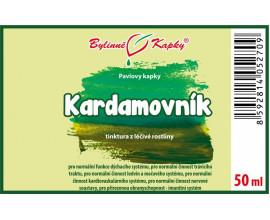 Kardamovník kapky (tinktura) 50 ml