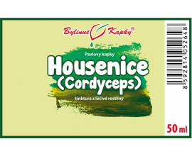 Housenice čínská (Cordyceps) kapky (tinktura) 50 ml