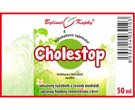 Cholestop kapky (tinktura) 50 ml