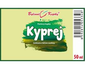 Kyprej vrbice kapky (tinktura) 50 ml