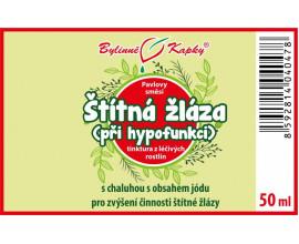 Štítná žláza hypofunkce kapky (tinktura) 50 ml