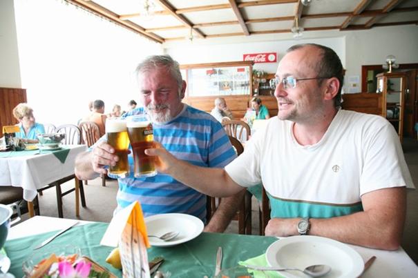 Dva Pavlové (pan Pavel Váňa a Pavel Kadaňka)