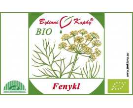 Fenykl BIO - bylinné kapky (tinktura) 50 ml