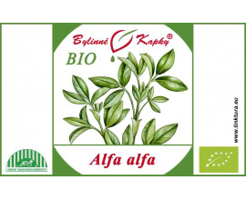Alfaalfa BIO - bylinné kapky (tinktura) 50 ml