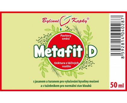 Metafit D (dna) kapky (tinktura) 50 ml