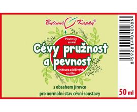 Cévy pružnost a pevnost - bylinné kapky (tinktura) 50 ml