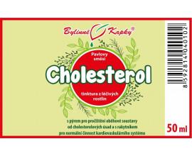 Cholesterol - bylinné kapky (tinktura) 50 ml