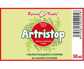 Artristop - bylinné kapky (tinktura) 50 ml