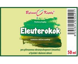 Eleuterokok - bylinné kapky (tinktura) 50 ml