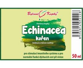 Echinacea (třapatka) kořen (bylinné kapky - tinktura) 50 ml