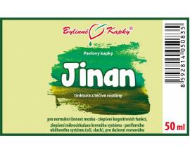 Jinan (Ginkgo) - bylinné kapky (tinktura) 50 ml