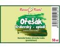 Ořešák královský (vlašský) oplodí - bylinné kapky (tinktura) 50 ml