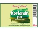 Koriandr plod - bylinné kapky (tinktura) 50 ml