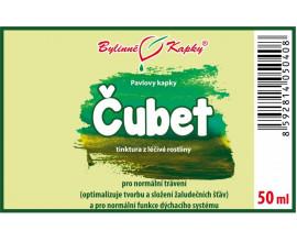 Čubet (benedikt lékařský) - bylinné kapky (tinktura) 50 ml
