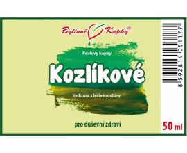 Kozlík - kozlíkové bylinné kapky (tinktura) 50 ml