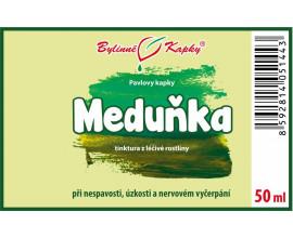Meduňka - bylinné kapky (tinktura) 50 ml