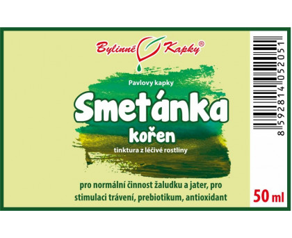 Smetánka (pampeliška) kořen kapky (tinktura) 50 ml
