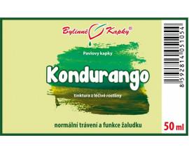Kondurango - bylinné kapky (tinktura) 50 ml