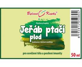 Jeřáb ptačí plod kapky (tinktura) 50 ml