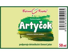 Artyčok - bylinné kapky (tinktura) 50 ml