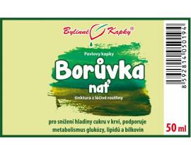 Borůvka nať kapky (tinktura) 50 ml