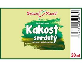 Kakost smrdutý - bylinné kapky (tinktura) 50 ml
