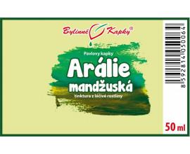 Arálie mandžuská kapky (tinktura)  50 ml