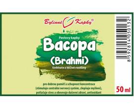 Bakopa (Bacopa - Bráhmí) - bylinné kapky (tinktura) 50 ml