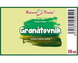 Granátovník - bylinné kapky (tinktura) 50 ml