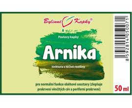 Arnika (prha) - bylinné kapky (tinktura) 50 ml