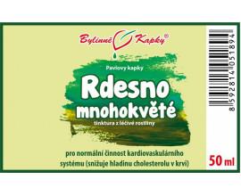 Rdesno mnohokvěté - bylinné kapky (tinktura) 50 ml