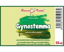 Gynostemma (jiaogulan) - bylinné kapky (tinktura) 50 ml