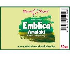 Emblica (emblika - Amalaki) - bylinné kapky  (tinktura) 50 ml