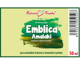 Emblica (emblika - Amalaki) kapky  (tinktura) 50 ml
