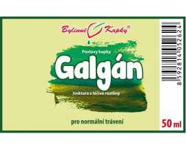 Galgán - bylinné kapky (tinktura) 50 ml