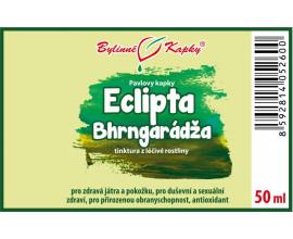Eclipta (Eklipta - Bhrngarádža) bylinné kapky  (tinktura) 50 ml