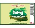 Šalvěj červenokořenná kapky (tinktura) 50 ml