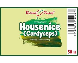 Housenice čínská (Cordyceps) - bylinné kapky (tinktura) 50 ml