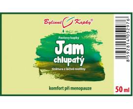 Jam (yam) chlupatý (Dioscorea villosa) - bylinné kapky (tinktura) 50 ml