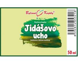 Jidášovo ucho - bylinné kapky (tinktura) 50 ml