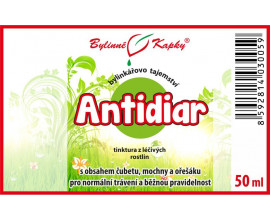 Antidiar - bylinné kapky (tinktura) 50 ml
