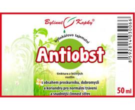 Antiobst - bylinné kapky (tinktura) 50 ml
